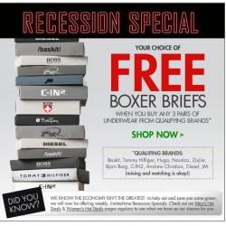 Fresh Pair – Free Boxer Briefs