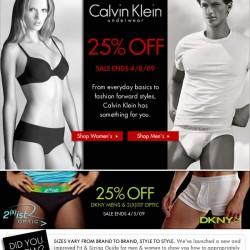 Fresh Pair – CK and DKNY sale