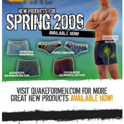 Quake For Men – New Spring Products