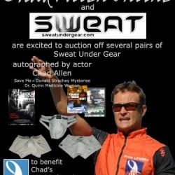 Chad Allen – Acutions of Sweat Unde Gear