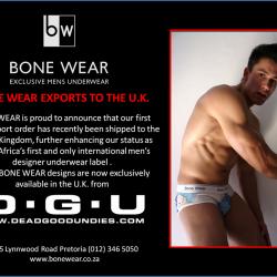 Bone Wear – Exclusively at Dead Good Undies