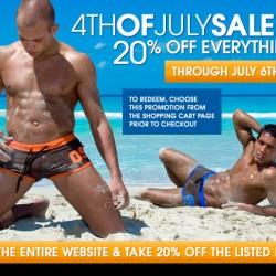 10 Percent.com – 4th of July Sale