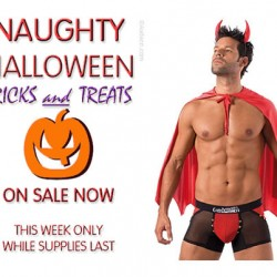Have a Naughty Halloween from Audace