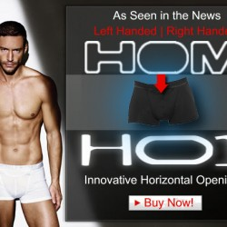 Giggleberries has the New HOM Left Handed Underwear