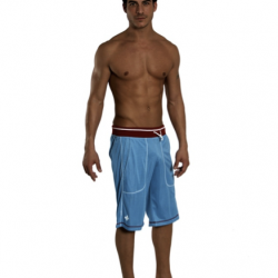 Review: Andrew Christian  Mesh Training Short – Light Blue/Burgundy Review