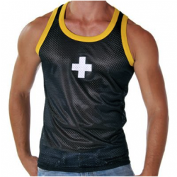 Review: Andrew Christian Cross Mesh Tank