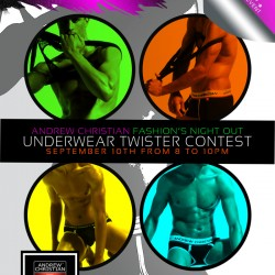 Andrew Christian Boutique Invited to Join Fashion's Night Out