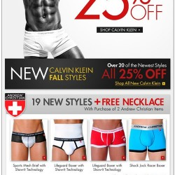 Fresh Pair 25% off Calvin Klien