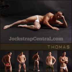 JOCKSTRAP CENTRAL MODEL THOMAS PLUS 15% OFF STORE WIDE SALE