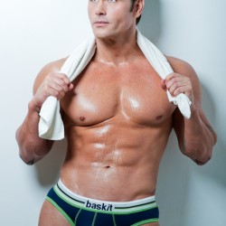 Jack Mackenroth in Baskit Underwear