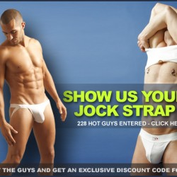 SHOW US YOUR JOCKSTRAP CONTEST #4 – VOTING BEGINS
