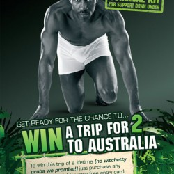 Win a Trip to Australia from Dead Good Undies and Sloggi