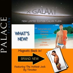 Calvin Klein X Galaxy Limited Edition, New Magnets, and Great Sales at Palace Trunks