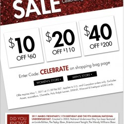 FreshPair.com Anniversary Sale!