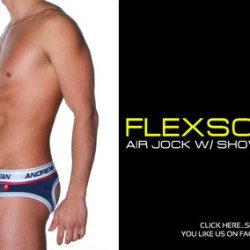 Andrew Christian FlexSoft Air Jock w/ Show-It Tech