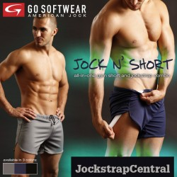 JUST ARRIVED AT JOCKSTRAP CENTRAL: JOCK N' SHORTS!