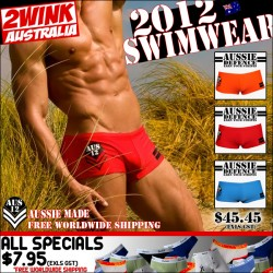 Hottest Aussie Swim Trunks at 2Wink