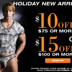 $15 off Holiday New Arrivals at UnderGear