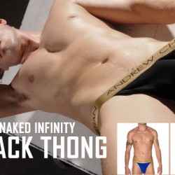 Style Brief – Andrew Christian Almost Naked Infinity Y-Back Thong