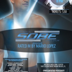 SOBE Men's Show – Miami Oct. 5th