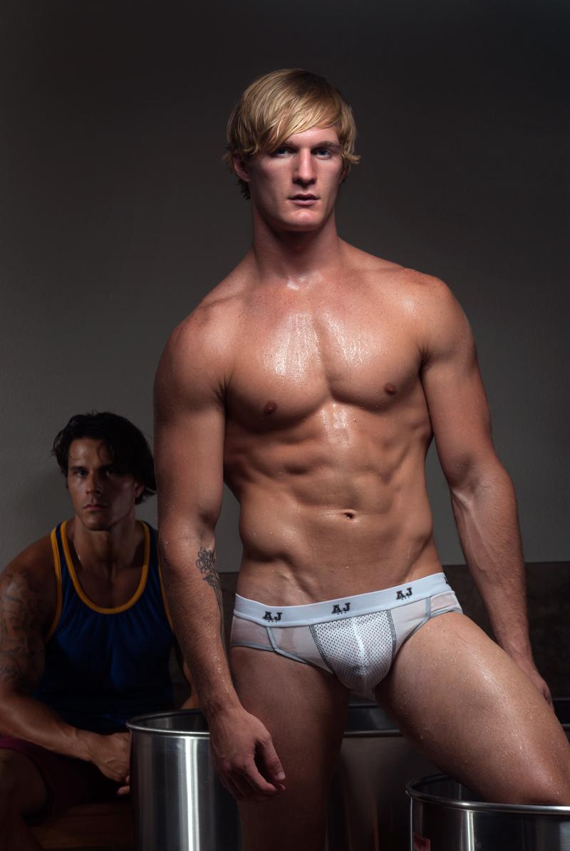 A J Mesh Underwear & Tank