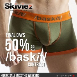 50% OFF Baskit Contrast at Skiviez