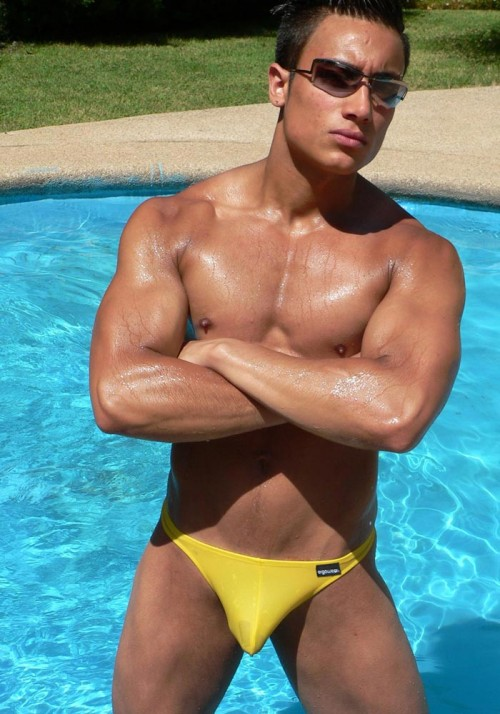 Ergowear X3D Swim Thong GBP25.00 @ Deadgoodundies.com