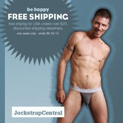 Free U.S. Or Discounted Worldwide Shipping At Jockstrap Central
