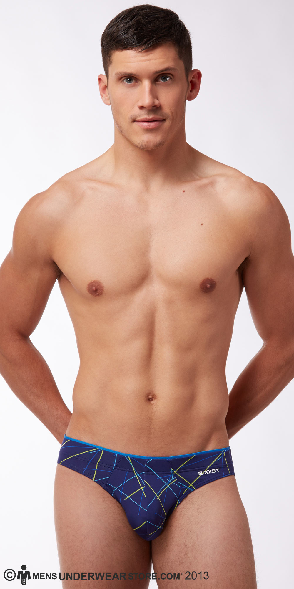 Mensuas is one of the leading men's underwear and swimwear online stores providing high quality customer service and fast shipping. We have a wide range of branded men's bikinis, briefs, boxers, men's thongs, trunks and men's G-strings at reasonable prices. This is the best online store for your underwear and swimwear needs.