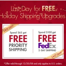 FreshPair.com – Last Day of Free Shipping Upgrades