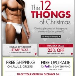 Fresh Pair.com – 12 Days of Thongs