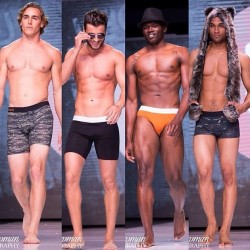 Wood Underwear Shows at L.A. Fashion Week