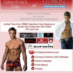 Cityboyz Fashion – Valentines Day Sale