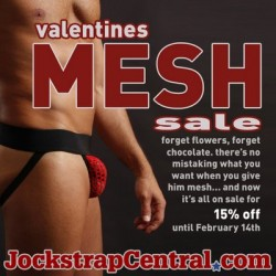 Jockstrap Central – Mesh Jocks on Sale