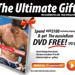 Aussiebum – Free Gift with $100 AU Purchase