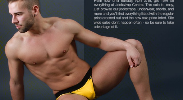 15% off Everything at Jockstrap Central