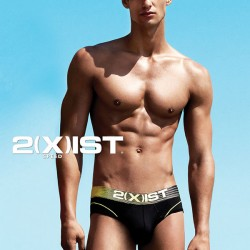 UNBTMGs Favorite Pair 2(X)ist Speed No-Show Brief