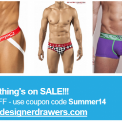 Designer Drawers 30% off Everything Sale
