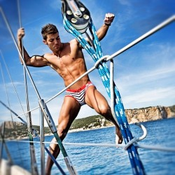 Swimwear Has It's Last Hurrah and for our Swim Brief Challenge