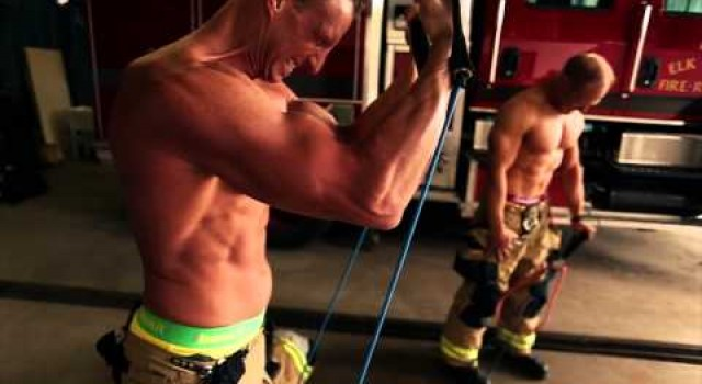 Making of the 2015 Colorado Firefighter Calendar featuring Baskit