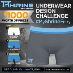 Be an Underwear Designer of Shrine Underwear