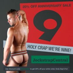 Jockstrap Central Turns 9