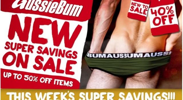 aussieBum Christmas Sale