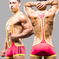 New Andrew Christian Wrestling Singlet