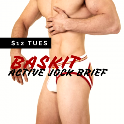 Baskit $12 Tuesday – Active Jock Brief