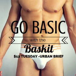 Baskit $12 Tuesday – Urban Basics Brief