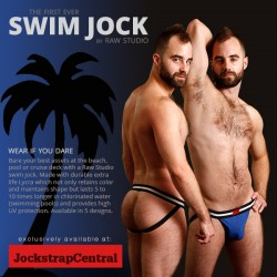 JOCKSTRAP CENTRAL INTRODUCES THE FIRST EVER SWIM JOCK BY RAW STUDIO