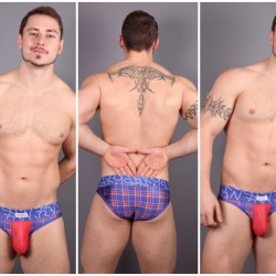 Review Sukrew Tartan Briefs