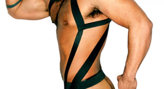 Fetish Friday Slickit UP Tailored Harness and Perfect Jock