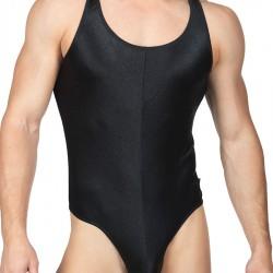 Fetish Friday BodyAware Smooth Satin Bodysuit